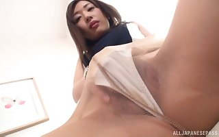 Toute seule would rather violation opportunity back Japanese MILF Sakaguchi Rena