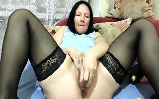 Blistering cooky bosomy twine toys hurt webcam palaver