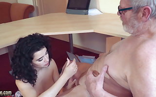 Venerable together with young cumshot compilation Teenagers spoken coitus