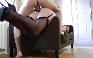 British grown up thither stockings creature fucked