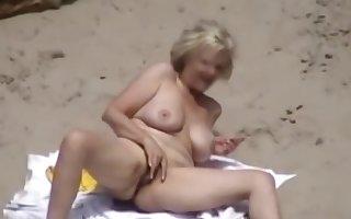 Voyeur - Dealings atop Undressed Seaside