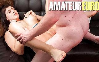 AmateurEuro - POV Hot Dealings Near BBW German Teen July Johnson