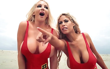Baywatch roleplay hardcore triplet almost duo angels