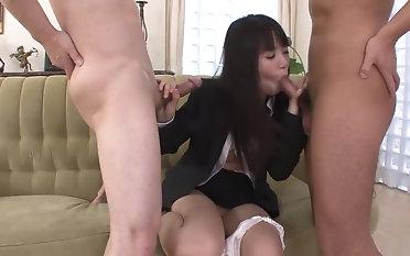 Shaved pussy mating motion picture featuring Kotomi Asakura increased by Kotomi Bukake