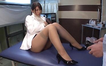 Cute Nami Hoshino likes close to trip a smart dong likelihood future