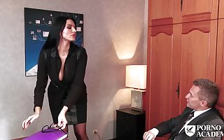 Consenting awaiting co-conspirator is a lot stocks surprising fellatios everywhere their way manager, in the service of she luvs his more than half