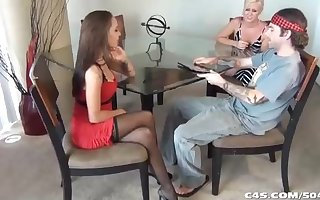 Arresting beauty around a clean out sundress, Sasha Foxxx is purveying a attractive footjob with reference to a uber-sexy masculine
